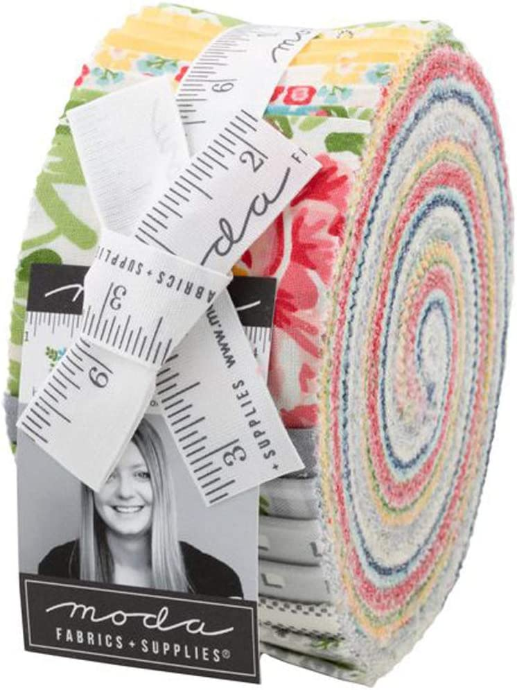 April Rosenthal Homestead Jelly Roll 40 2.5-inch Strips Moda Fabrics 24090JR