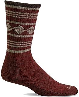 Sockwell Mens Poncho Stripe Hiker Crew Socks