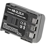 NB-2LH Battery 1800 mAh for Canon Camera & Video Camera
