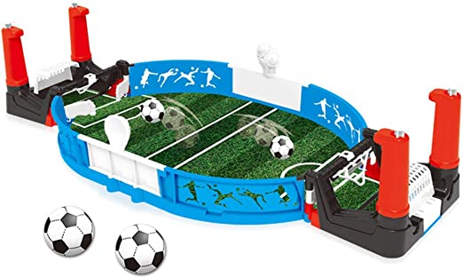 Msleep Mini Tabletop Futbolín Mini Fútbol Tablop Arcade Juego ...