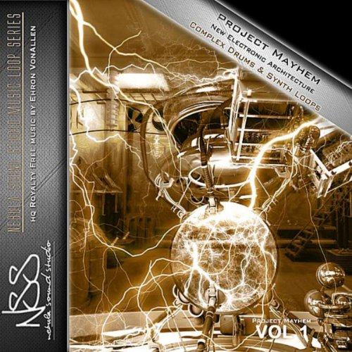 Project Mayhem: New Electronic Architecture Complex Drums & Synth Loops, Vol. 1