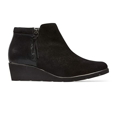 7b578aa7d5 Van Dal Cass Wide E Fit Wedge Ankle Boots: Amazon.co.uk: Shoes & Bags