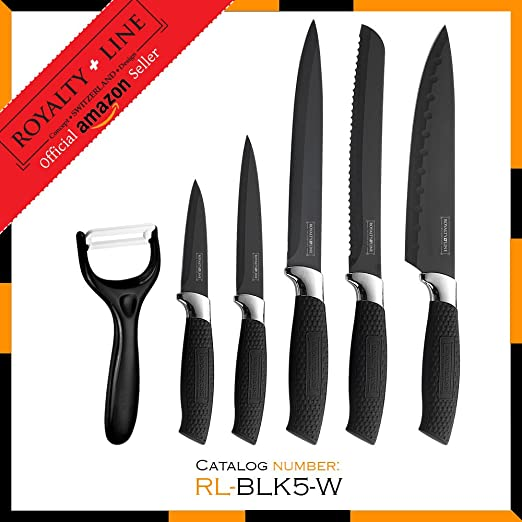 Compra Royalty Line RL-COL5W 5 piezas Juego de cuchillos y ...
