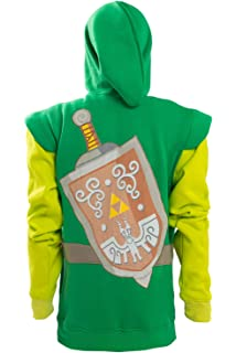 Amazon.com: The Legend of Zelda - Sudadera con capucha y ...