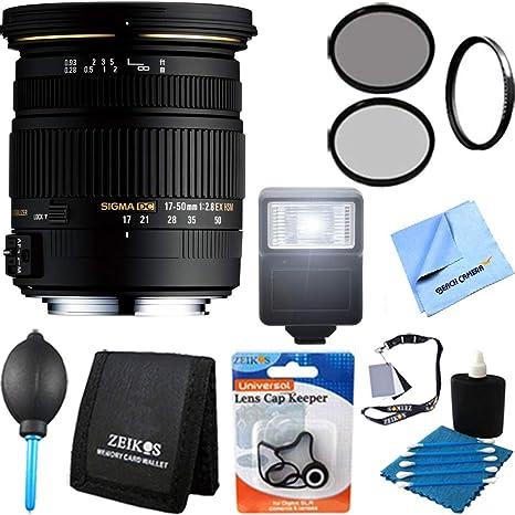 Sigma 50 mm f/1,4 EX DG HSM - objetivo para Nikon Cámaras réflex ...