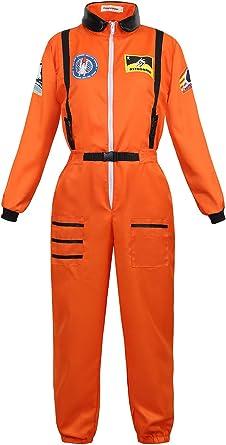 Zhitunemi Disfraz de Astronauta Adultos, para Mujer, Disfraz ...