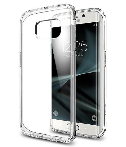 spigen Funda Galaxy S7 Edge, Carcasa [Ultra Hybrid] Tecnología de amortiguación de Aire y protección híbrida contra caídas para Samsung Galaxy S7 ...