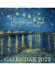 Vincent van Gogh Calendar 2022: November 2021 - December 2022 Mini Art Calendar Monthly Planner