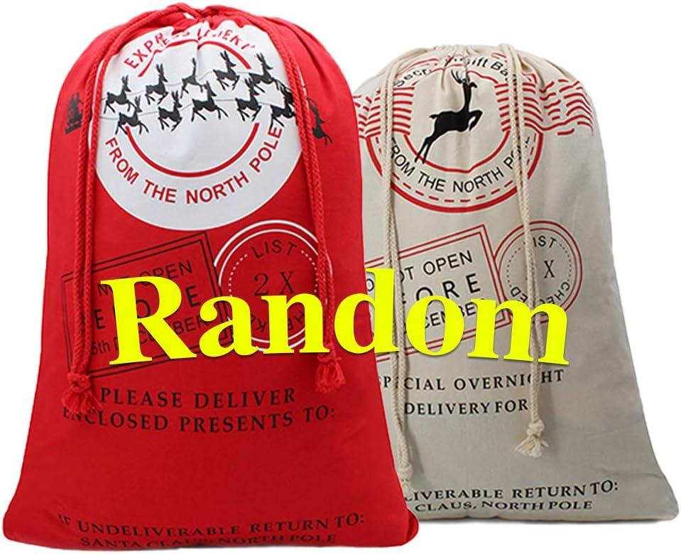 Christmas Bag Santa Sack Canvas Bag For Gifts Santa Sack Special Delivery Extra Large Size 27.5