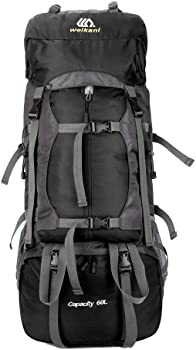 Onepack Hiking Backpack 60L Lightweight Trekking Bag