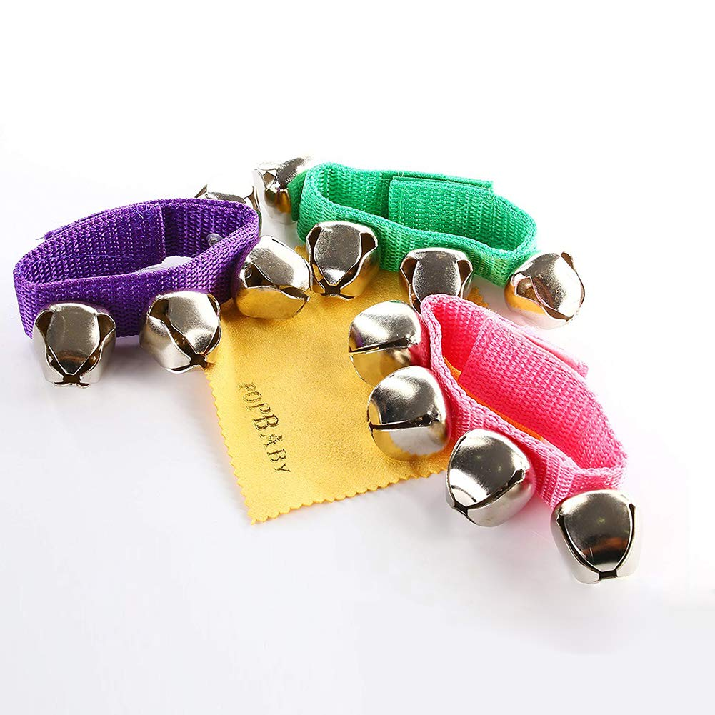 POPLAY Band Wrist Bells,12 PCS by POPLAY