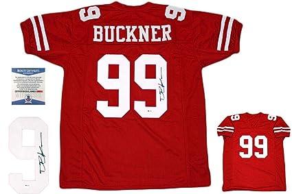 huge selection of d4273 e3a09 Deforest Buckner Autographed Jersey - Beckett Red - Beckett ...