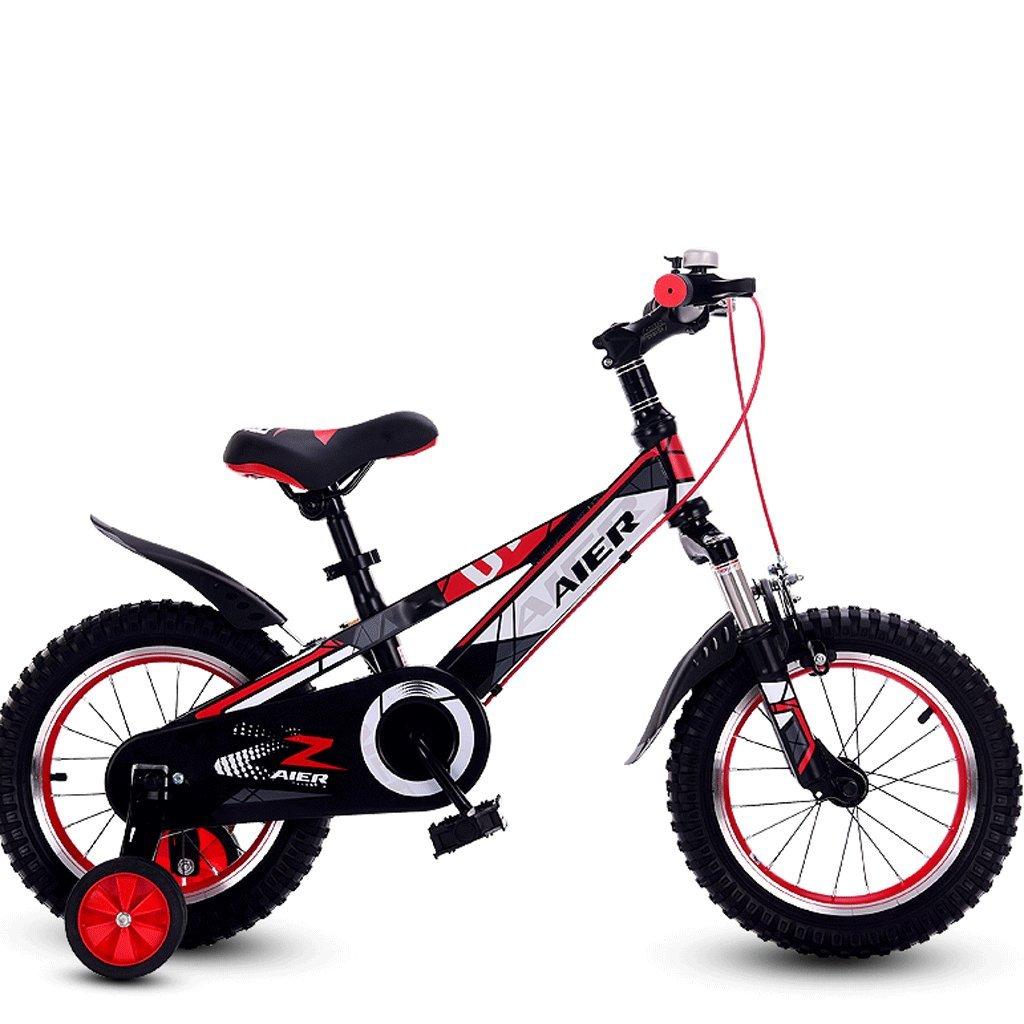 DGF 子供と自転車用の子供用自転車2-10小型自転車12/14/16/18インチマウンテンバイク (色 : 赤, サイズ さいず : 14 inches) B07F1N5RB3 14 inches|赤 赤 14 inches