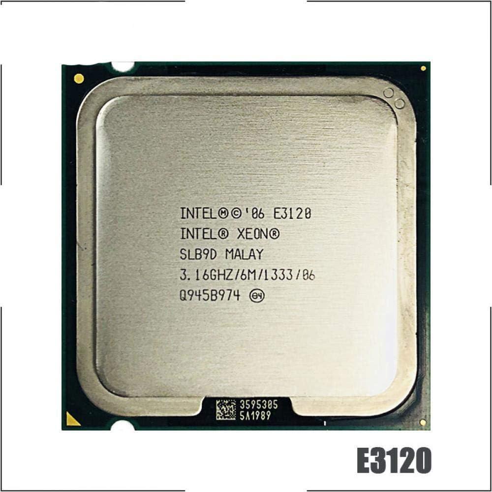Intel Xeon E3120 3.1 GHz Dual-Core CPU Processor 1333 L2=6M 65W LGA 775