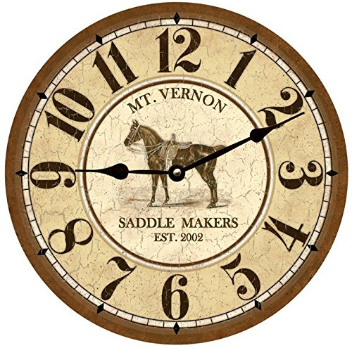 Personalized Horse Clock