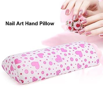 Almohada de mano, Nail Art Cojín Manicura Esponja Suave mano ...