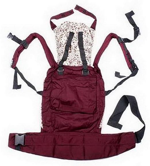 122ee19cafd EOZY Porte Bébé Rouge Ventral Dorsal Imprimé Coton 4 Mois à 3 Ans   Amazon.fr  Vêtements et accessoires