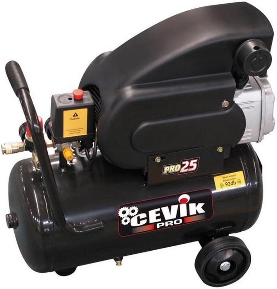 Cevik Ca-Pro25 - Compresor Cevik Pro 25 2Hp 25L