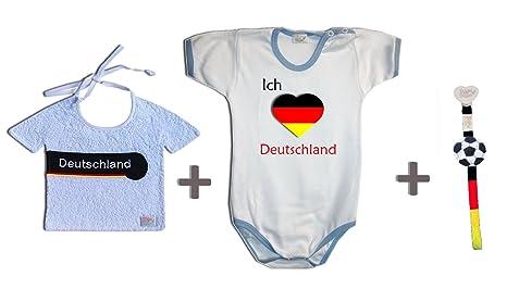 Zigozago - Juego Mundial Alemania compuesto de babero + Body ...