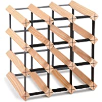 Artiss 12-110 Bottle Timber Wine Racks