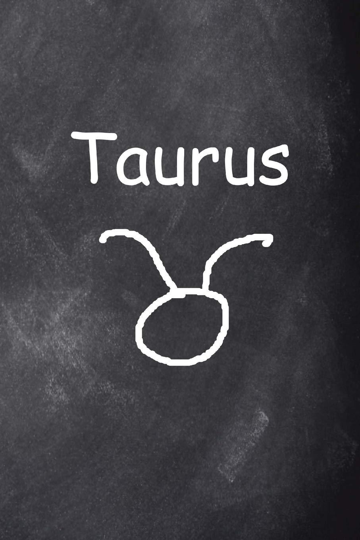 2019 Weekly Planner Taurus Symbol Zodiac Sign Horoscope Chalkboard