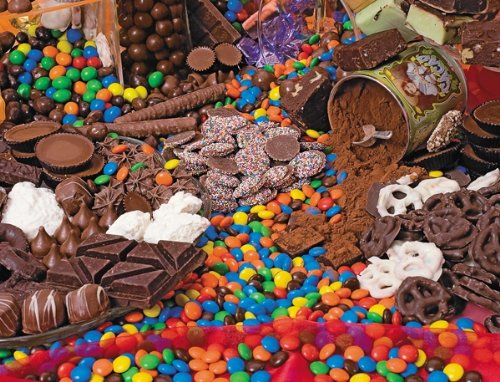 Chocolate Sensation 400 Piece Family Jigsaw Puzzle