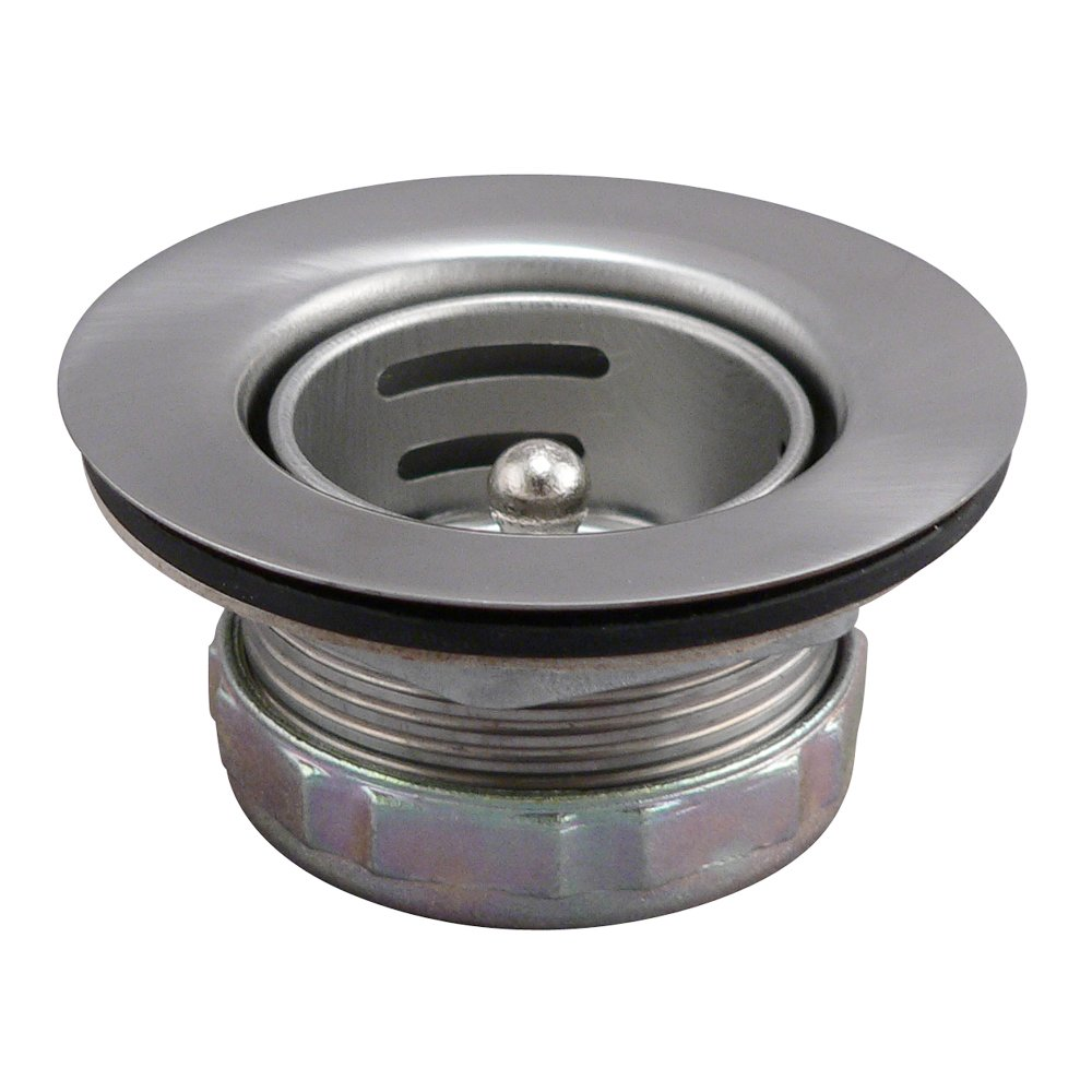 Keeney 878PC Bar Sink Strainer, Stainless Steel by Keeney Manufacturing (Image #2)