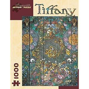 Tiffany Butterfly Window Jigsaw Puzzle By Pomegranate