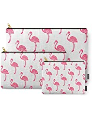 Society6 American Flamingo (pink) Carry-All Pouch