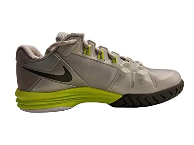 newest 80b41 39018 Amazon.com   NIKE Women s WMNS Lunar Ballistec, METALLIC IRON ORE DARK BASE  GREY-VENOM GREEN, 9 M US   Shoes