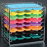 Dental instruments Organize Tray Rack Chroma Hold 8 trays B SizeTrays NOT Includes