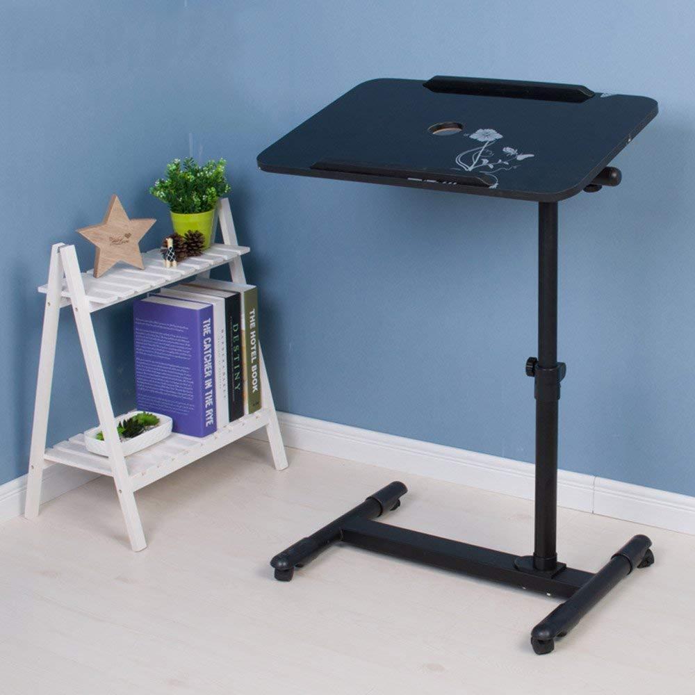 H WENYAO Tavolo Pieghevole Tavolo Pieghevole Lazy Laptop Desk Letto per la casa Piccola scrivania 8 Coloreei Opzionale 57  62cm (Coloreee  H)