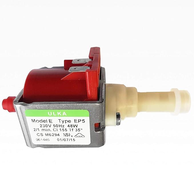 ULKA PUMPS ULKA PUMP POMPA ULKA Model EFM Type EP5FM//SP 230V 50HZ 48W 2//1 min.