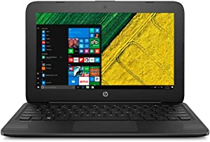 "2019 Premium Flagship Stream HP Laptop Notebook Computer 11.6"" HD Display Intel Celeron N4000 Processor 4GB RAM 32GB eMMC + 128GB microSD Webcam Bluetooth 4.2 Office 365 Personal-1yr Win10 S"