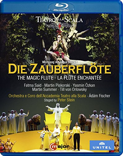 Wolfgang Amadeus Mozart: Die Zauberflote (Blu-ray)