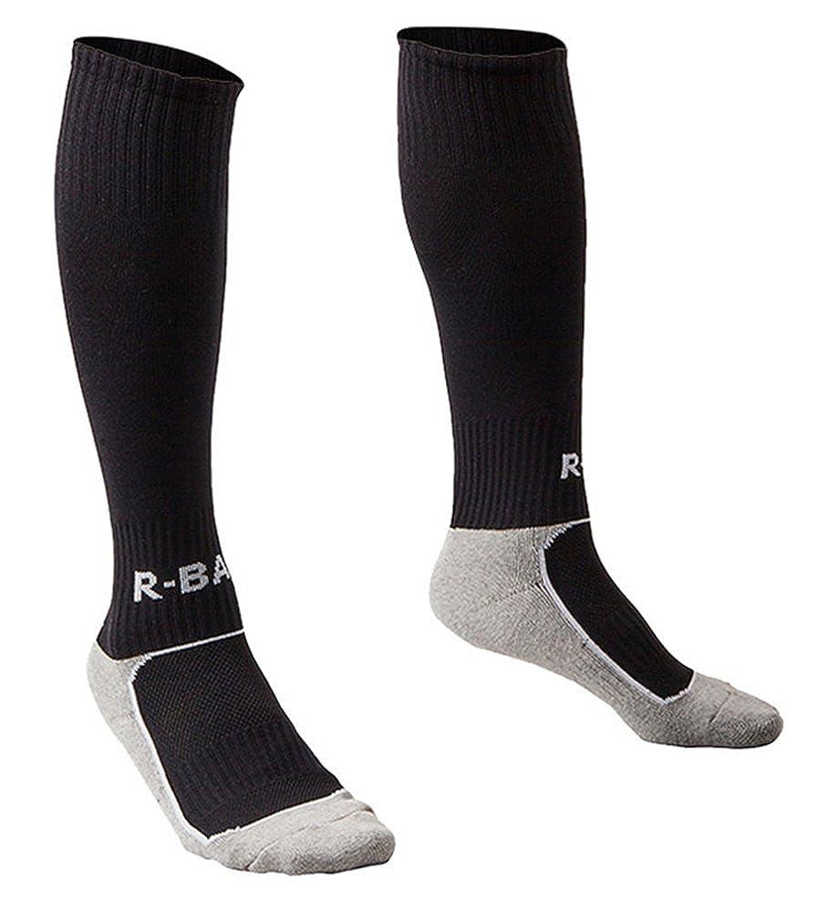 Kids Soccer Socks 5 Pack / 1 Pack Knee High Tube Socks Towel Bottom Pressure Football Socks (7-13 Years Little Kid/Big Kid)