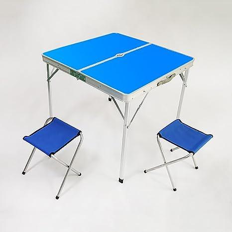 DS mesa plegable Mesas y sillas Plegables para Acampar al ...