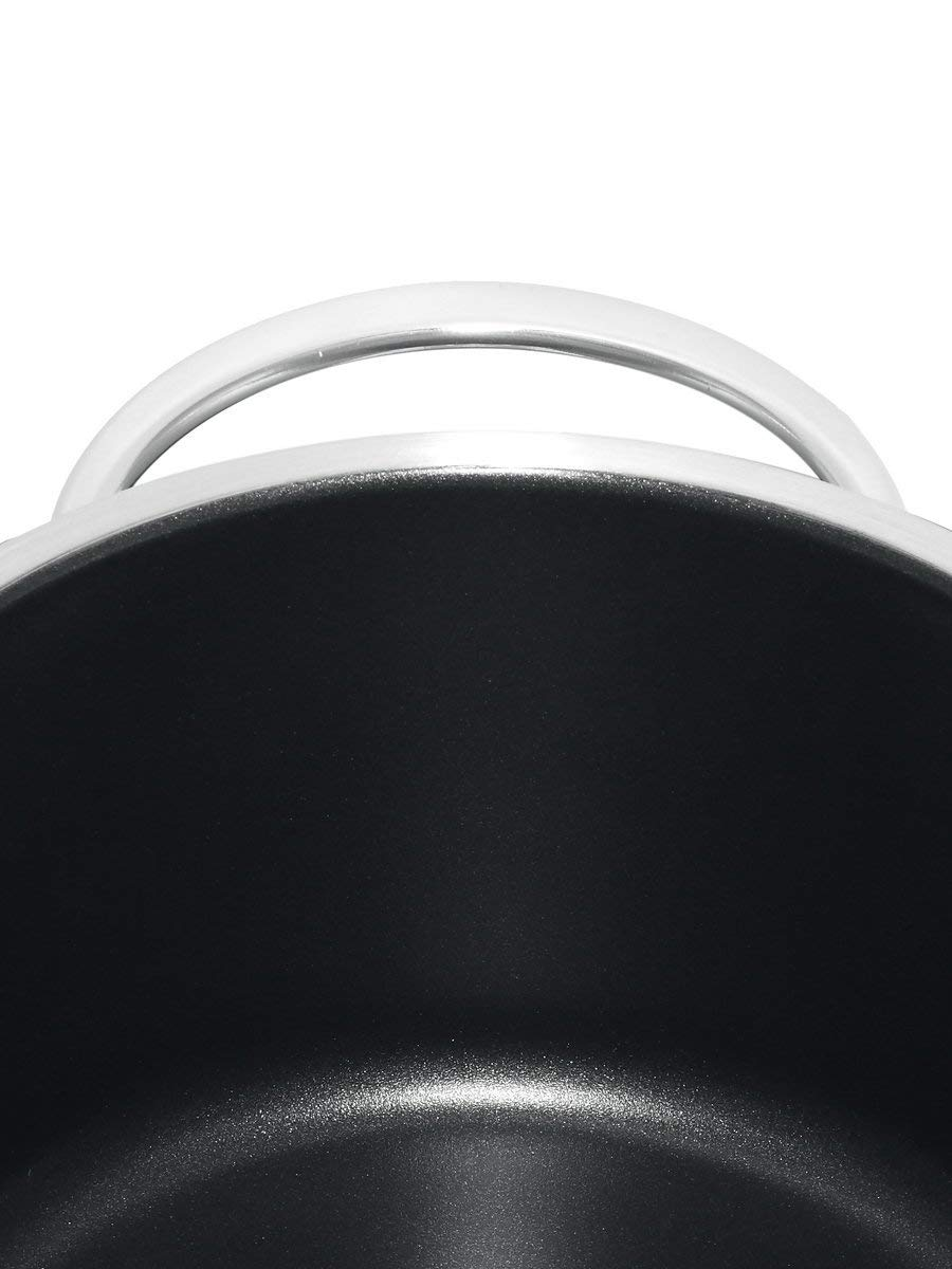 WMF Saucepan Approx. 1.5 L Vignola Coated Rustproof Polished Stainless Steel Dishwasher-Safe Suitable for Induction Cookers Diameter 16 cm