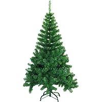 SAILUN 120/150/180/210/240 cm Arbre de Noël artificiel sapin, vert nature matériau PVC avec pied en métal