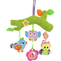 Camidy Crib Mobile Nursery Stroller Hanging Animals Toy Plush Cot Bed Mobile Baby Gift