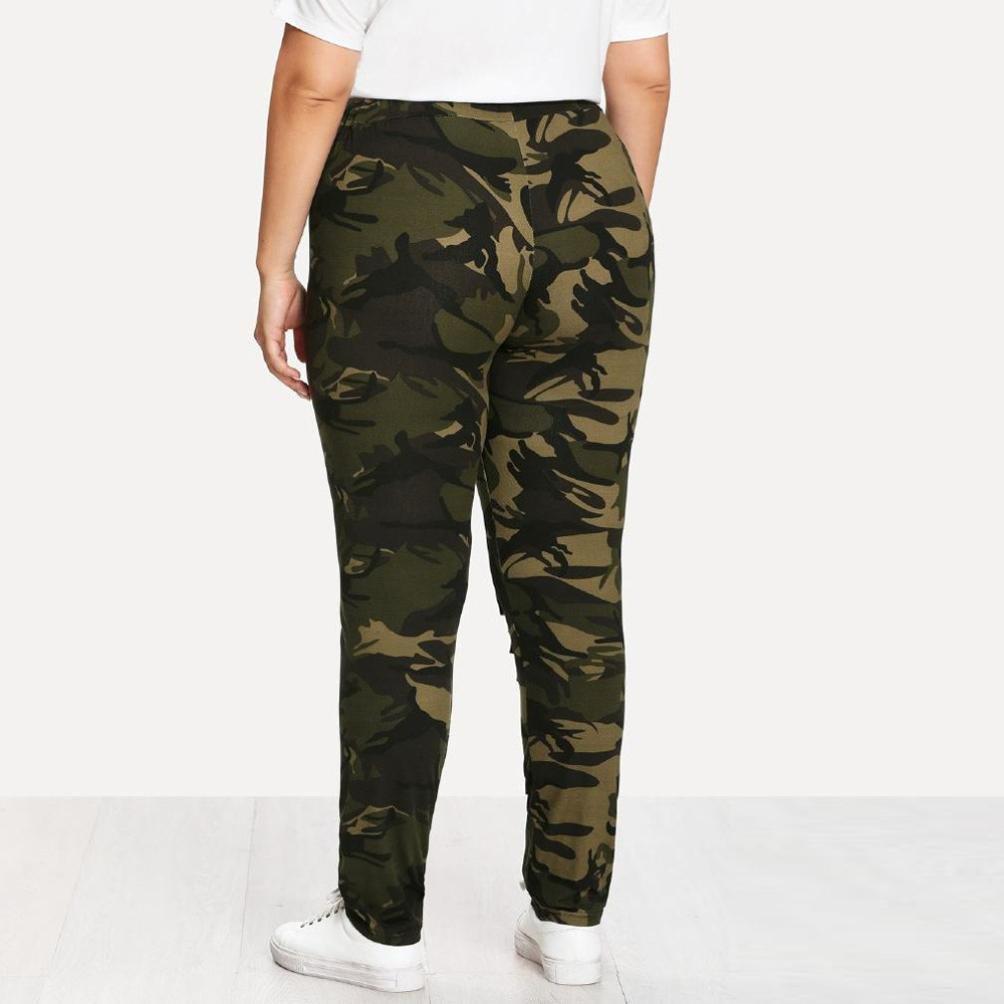 Amazon.com: GoodLock - Leggings de camuflaje para mujer ...