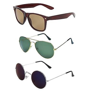 Combo Sunglassescombo Zyaden WayfarerAviatorRound 321 Of srCxtQhd
