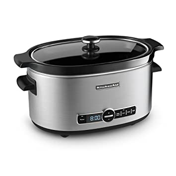 Delightful Amazon.com: KitchenAid KSC6223SS 6 Qt. Slow Cooker With Standard Lid    Stainless Steel: Kitchen Aid Crock Pot: Kitchen U0026 Dining