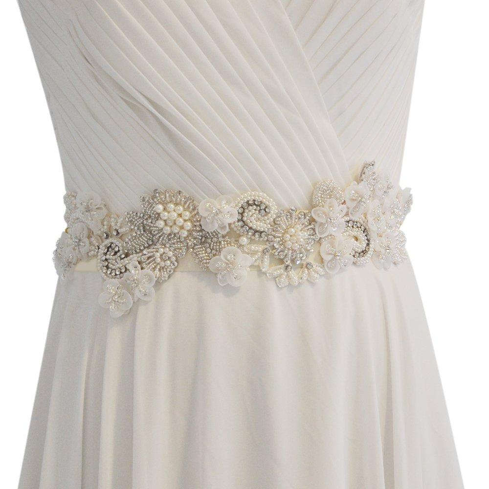 THK-Wedding ACCESSORY レディース  Applique Only (No Ribbon) B076P3S5TY