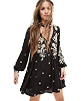 Free People Women's 'Sweet Tennessee' Embroidered Dress
