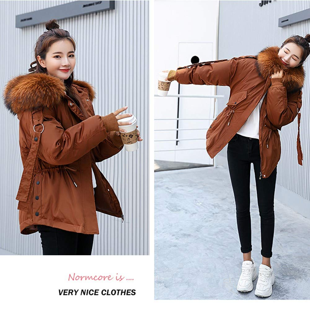 vermers Womens Winter Warm Outerwear Short Down Coat 2018 Women Parka Hooded Coat Quilted Jacket Outwear