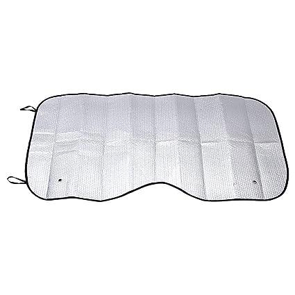 Winomo - Parasol de aluminio para parabrisas de coche para ventanas delanteras y traseras