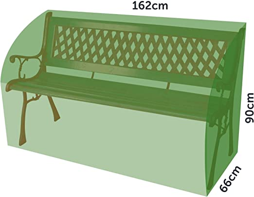 LIVIVO Durable Waterproof 3 Seater Garden Patio Furniture Bench Seat Cover Heavy