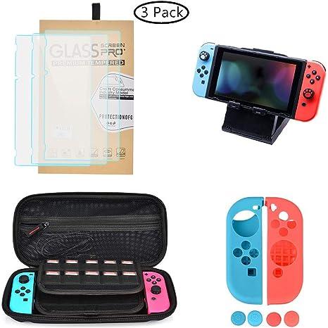 OIZEN Kit de Accesorios para Nintendo Switch, Kit Protección para ...