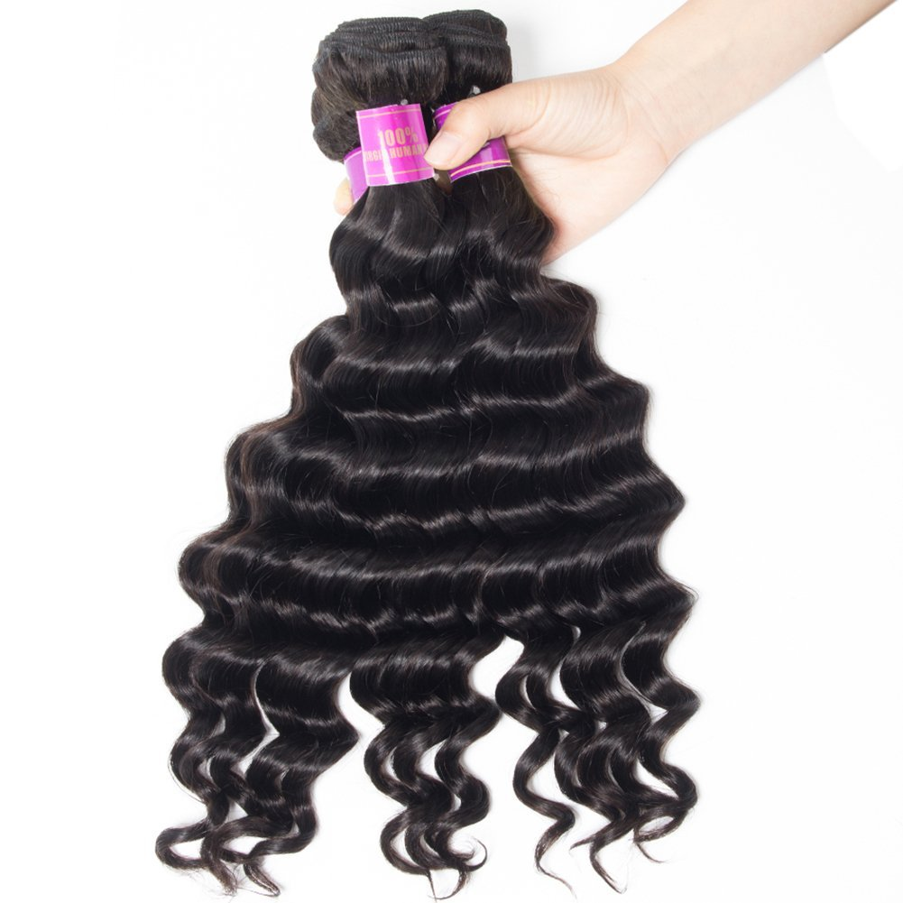 Amazon Star Show Loose Deep Wave Bundles Malaysian Virgin Hair